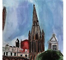 Here Is The Steeple.. Photographic Print