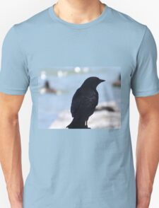 Crow Profile Unisex T-Shirt
