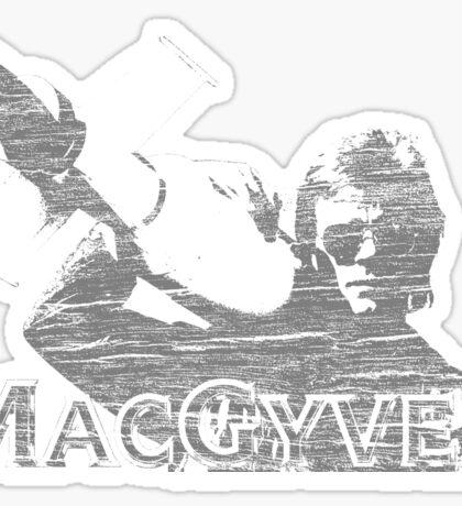 MacGyver Tee Sticker