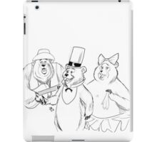 #bearsquad iPad Case/Skin