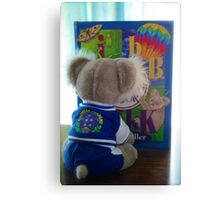 Who Know - BB and Koala All In One book Canvas Print