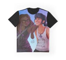 Parisian Girlfriends About Town Graphic T-Shirt
