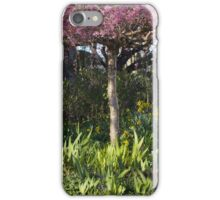 Cherry blossoms and daffodil blooms iPhone Case/Skin