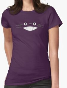 Totoro Smile! Womens Fitted T-Shirt