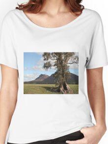 Gumtree & Wilpena Pound, Flinders Ranges, Australia Women's Relaxed Fit T-Shirt