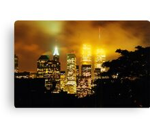 Twin Towers 1999 II Canvas Print