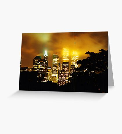 Twin Towers 1999 II Greeting Card