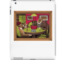 Dogs Playing Dungeons & Dragons iPad Case/Skin