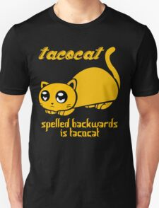 Funny Taco Cat Unisex T-Shirt