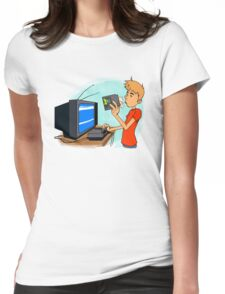 Blow That Cartridge! Womens Fitted T-Shirt