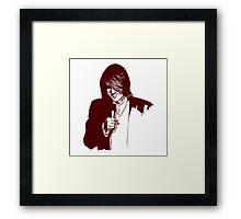 Comedian Framed Print