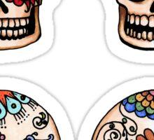 Sugar Skull Set Sticker