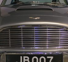 """""""Goldfinger"""" Aston Martin DB5 Sticker"""