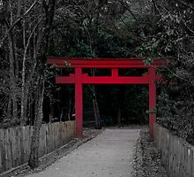 Japanese Arch by Christopher Cookson