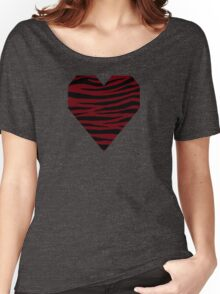 0590 Rosewood Tiger Women's Relaxed Fit T-Shirt