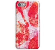 Vintage flower tile iPhone Case/Skin