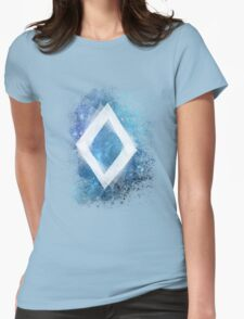 Spacey Diamond  Womens Fitted T-Shirt