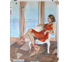 """At my Beach House"" iPad Case/Skin"