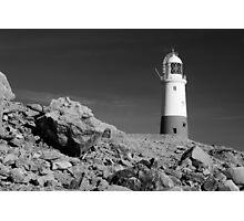 Lighthouse, Portland Bill, Dorset, England. Photographic Print
