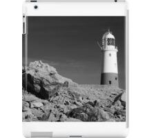 Lighthouse, Portland Bill, Dorset, England. iPad Case/Skin
