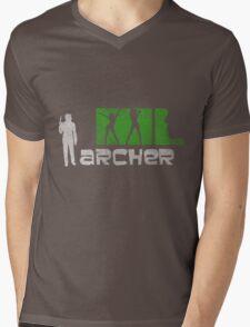 Archer  Mens V-Neck T-Shirt
