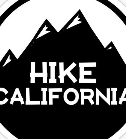 Hike California Sticker