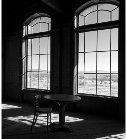 Table and Chair and The Windows Sticker
