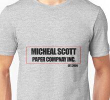 Micheal Scott Paper Company Tee Unisex T-Shirt