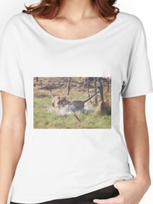 Bengal Tigers Sparring Women's Relaxed Fit T-Shirt