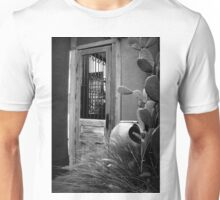 Tucson Door ~ Black & White Unisex T-Shirt