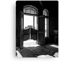 The Swinging Doors Canvas Print