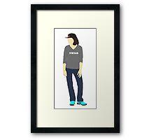 Sketchup Gangsta Framed Print