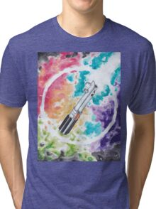 Anakin Light Saber Tri-blend T-Shirt