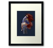 Let Her Sleep Lee and Clementine Framed Print