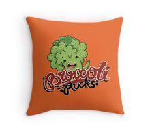 Broccoli Rocks  Throw Pillow