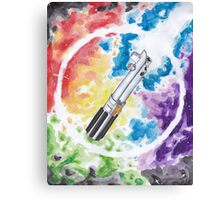 Anakin Light Saber Canvas Print