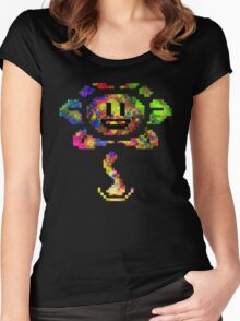 Flowey - Undertale (Colour) Women's Fitted Scoop T-Shirt