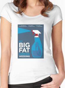 My Big Fat Greek Wedding // Minimalist Art Women's Fitted Scoop T-Shirt