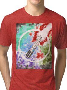 Anakin Light Saber Tri-blend T-Shirt