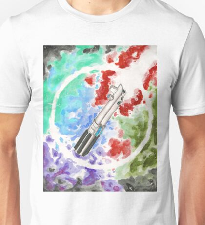 Anakin Light Saber Unisex T-Shirt