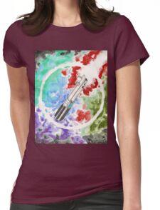 Anakin Light Saber Womens Fitted T-Shirt