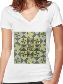 Untitled 270315 Women's Fitted V-Neck T-Shirt