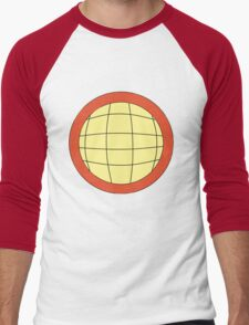 Captain Planet - Planeteer -  fire - Wheeler T-Shirt! Men's Baseball ¾ T-Shirt
