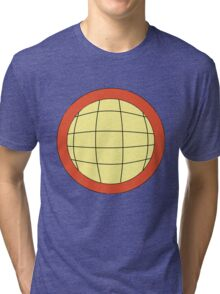 Captain Planet - Planeteer -  fire - Wheeler T-Shirt! Tri-blend T-Shirt