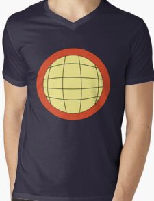 Captain Planet - Planeteer -  fire - Wheeler T-Shirt! Mens V-Neck T-Shirt