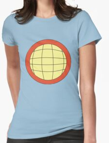 Captain Planet - Planeteer -  fire - Wheeler T-Shirt! Womens Fitted T-Shirt