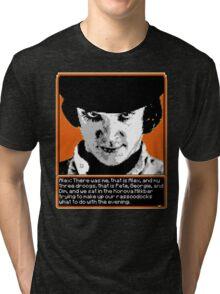 A Clockwork Orange - 8-bit Tri-blend T-Shirt