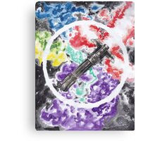 Kylo Ren Light Saber Canvas Print