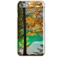 girls trekking in the wood iPhone Case/Skin