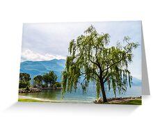 Lake of Garda, italy Greeting Card